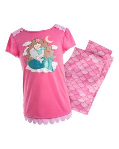 Pink Mermaid Pajama Set
