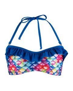 Rainbow Reef Bandeau Bikini Top