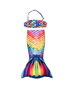 Rainbow Reef Toddler Tail and Bandeau Set