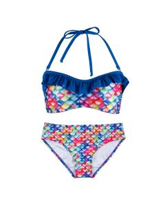 Rainbow Reef Bandeau Bikini Set
