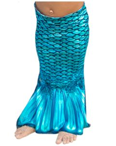 Tidal Teal Toddler Mermaid Tail