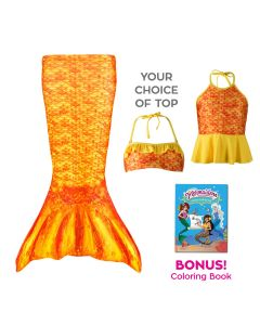 Toddler Mermaidens Bundle: Tropical Sunrise