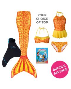 Mermaidens Bundle: Tropical Sunrise