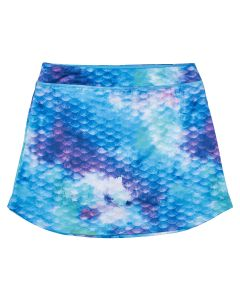 Watercolor Waves Skort