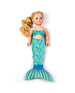 Aussie Green Doll Tail and Top for 18 inch dolls