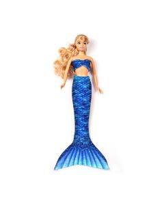 Arctic Blue Fashion Doll Tail Set