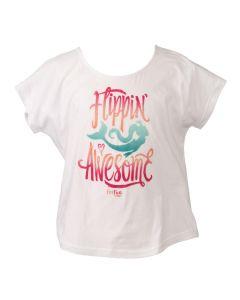 White Flippin Awesome Tshirt