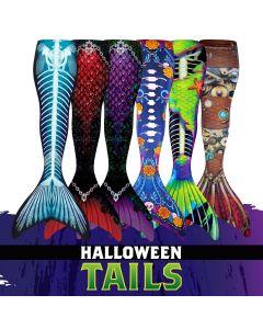 Custom Halloween Mermaid Tails