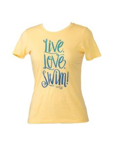 LIVE, LOVE, SWIM YELLOW