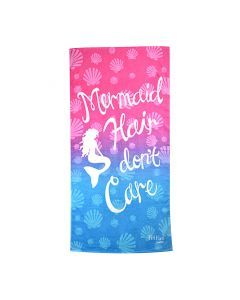Mermaid Hair Dont Care Towel