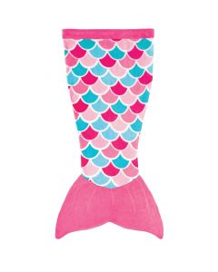 Cuddle Tails Mermaid Tail Blanket in Pink Dream