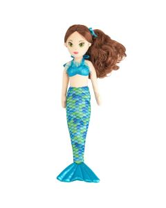 Mermaiden Zoey Aurora® mermaid doll tail