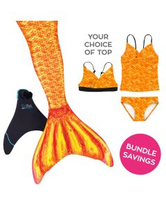 Mermaidens Bundle: Tropical Sunrise