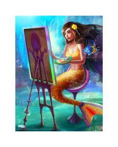 "Mermaidens Poster ""Serena's Perfect Portrait"""