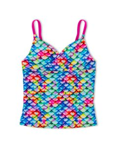 Girls Rainbow Reef Tankini Top