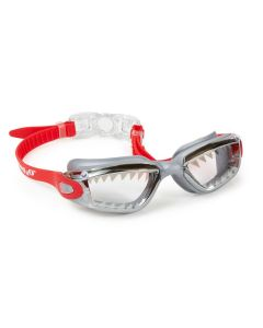 Jawsome Swim Goggles: Crimson Red
