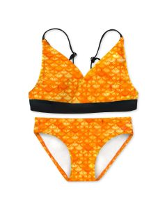 Girls Tropical Sunrise Bikini Set