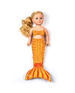 Tropical Sunrise Doll Tail and Top for 18 inch dolls