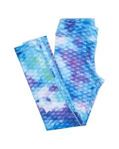 Watercolor Mermaid Leggings