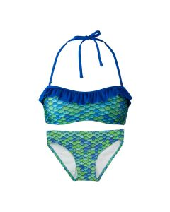 Aussie Green Bandeau Bikini Set