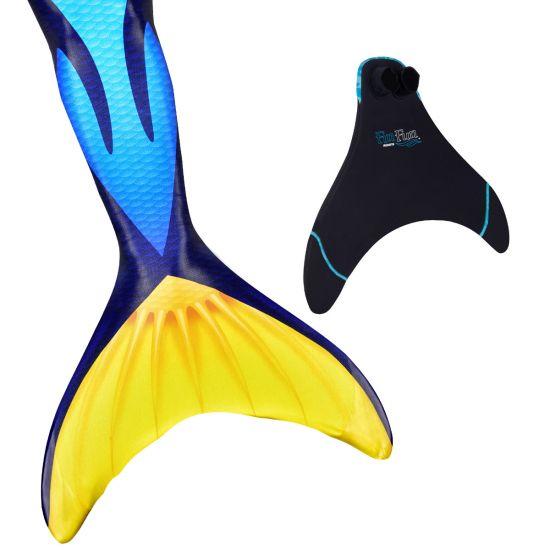 Blue Tang Mermaid Tail