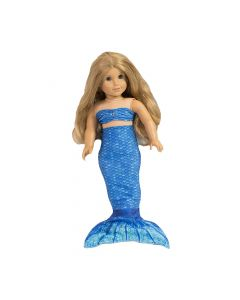 Arctic Blue Doll Tail and Top - 18 inch