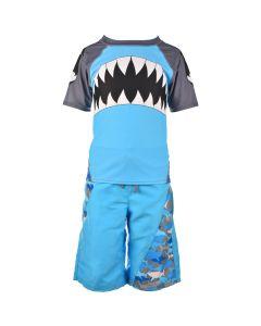Blue Shark Swim Suit