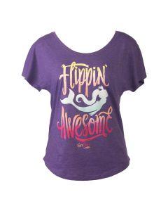 Flippin' Awesome T-Shirt Purple