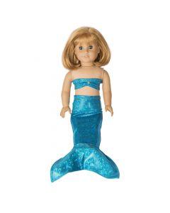 Mediterranean Sea Doll Tail & Top - 18 inch