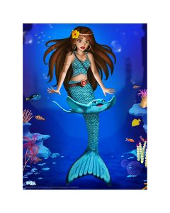 "Mermaidens Poster ""Mariana's Special Friendship"""