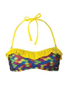 Original Rainbow Reef Bandeau Bikini Top