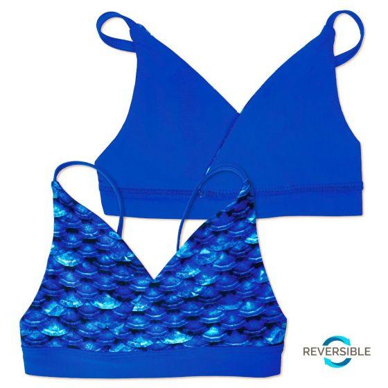 Girls Arctic Blue Bikini Set