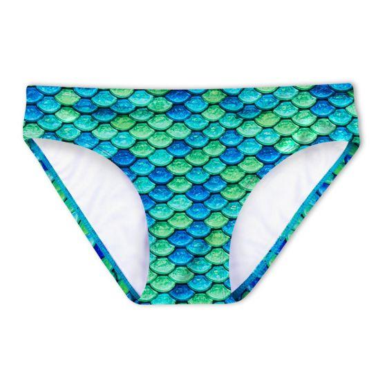 Aussie Green Bikini Bottom