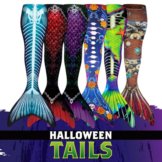 Custom Halloween Mermaid Tails