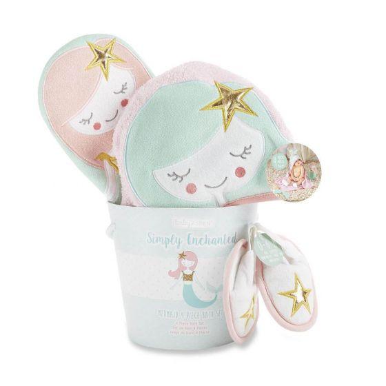Simply Enchanted Mermaid Bath Time Gift Set