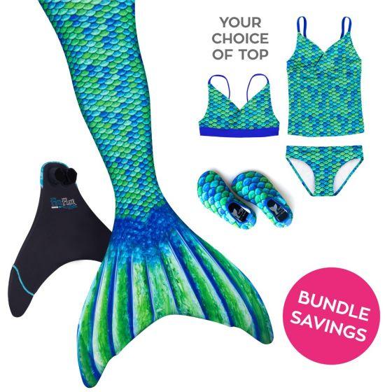 Mermaidens Bundle: Aussie Green