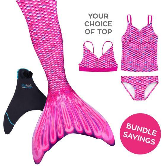 Mermaidens Bundle: Malibu Pink