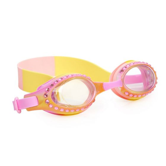 Ombre Swim Goggles: Sorbet Orange