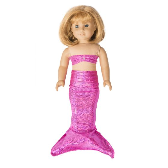 Passion Pink Doll Tail & Top - 18 inch