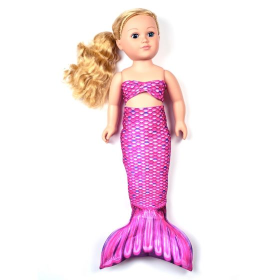 Malibu Pink Doll Tail Set – 18-Inch