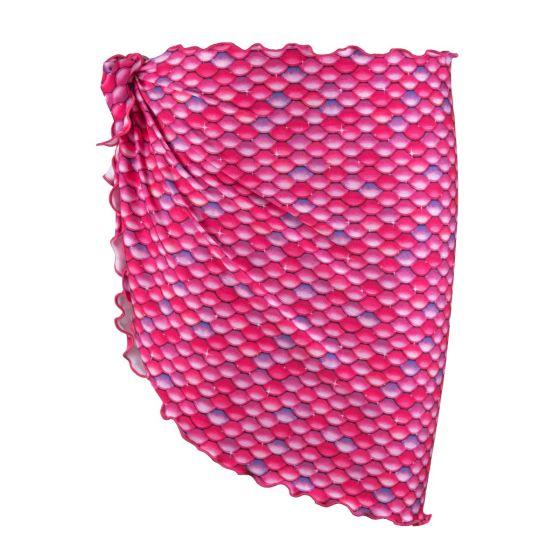 malibu pink mermaid sarong