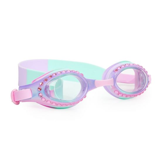 Ombre Swim Goggles: Blush Pink