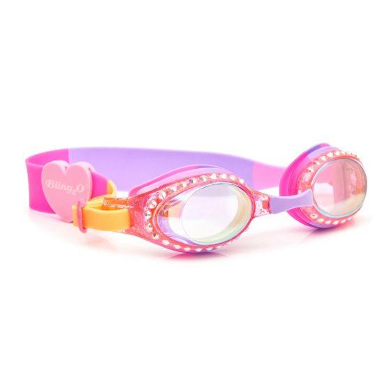 Classic Swim Goggles: Straw-Blue-Berry