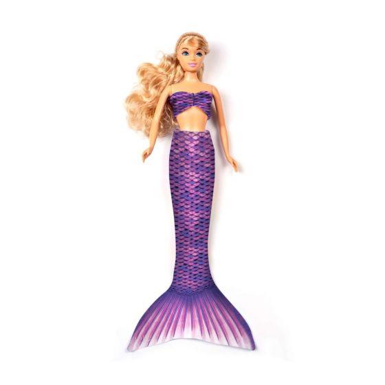 Asian Magenta Fashion Doll Tail Set