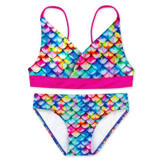 Girls Rainbow Reef Bikini Set