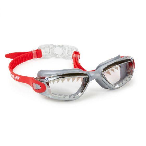 Jawsome Swim Goggles: Crimson Red