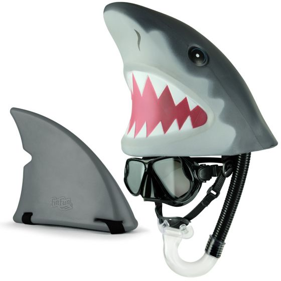 Shark Fin for swimming and shark Snorkimal swimming toy
