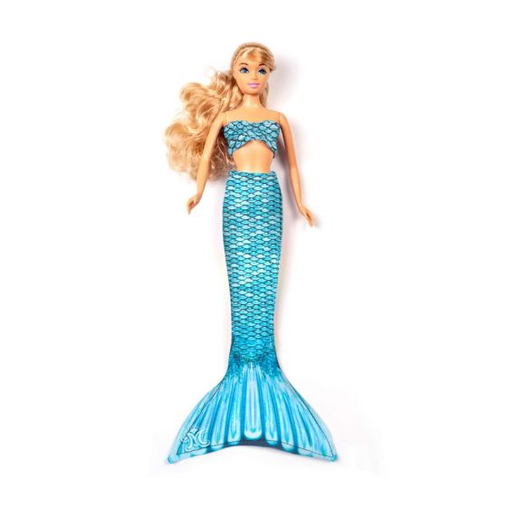 Tidal Teal Small Doll Tail & Top