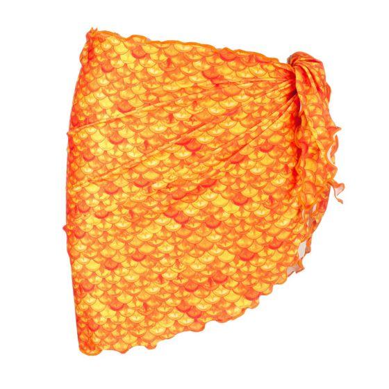 tropical sunrise sarong