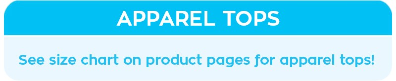 product page size chart reference
